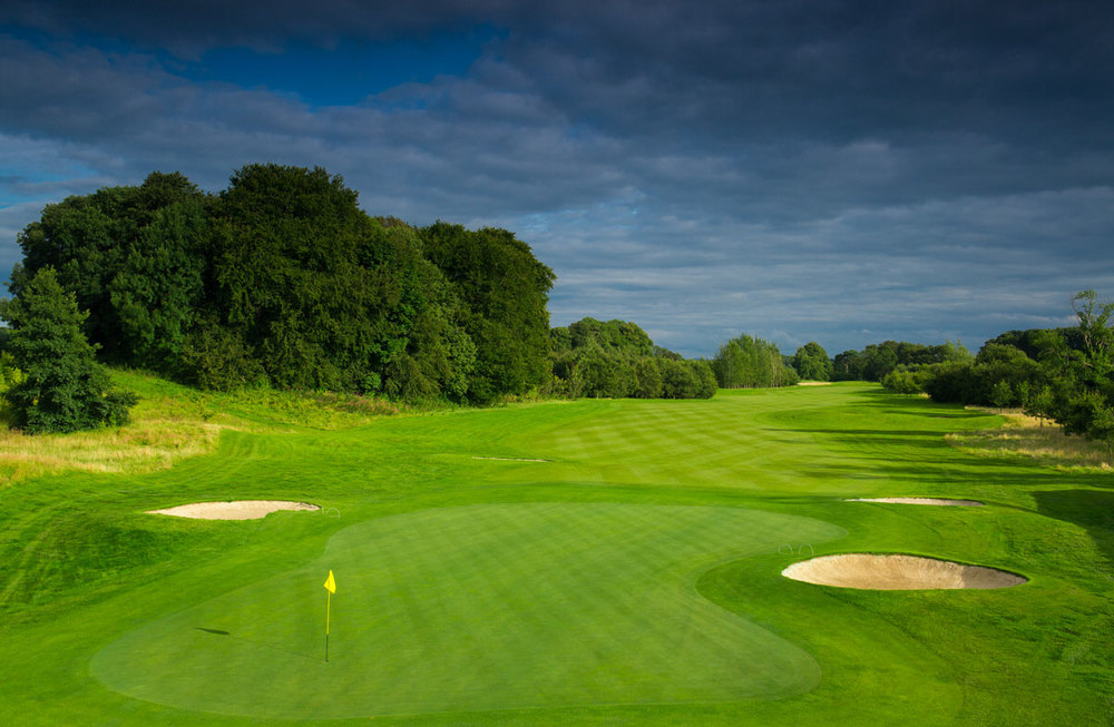 The 18th at Galgorm Castle Golf Club in Ballymena, Northern Ireland. Photo: Kevin Markham