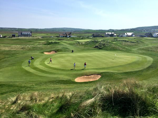 Lahinch. Picture via @IrishLadiesGolf