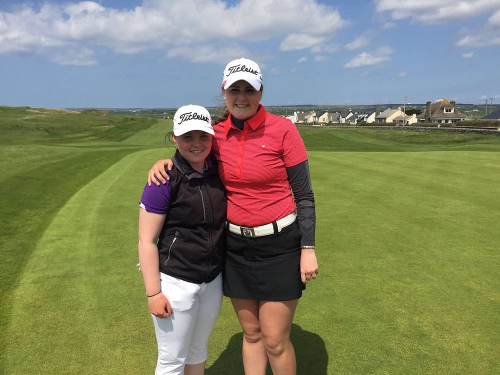 Killarney's Mairead Martin showed why she's one of Ireland's future stars when she took world No  Olivia Mehaffey to the 18th in the Irish Women's Close at Lahinch