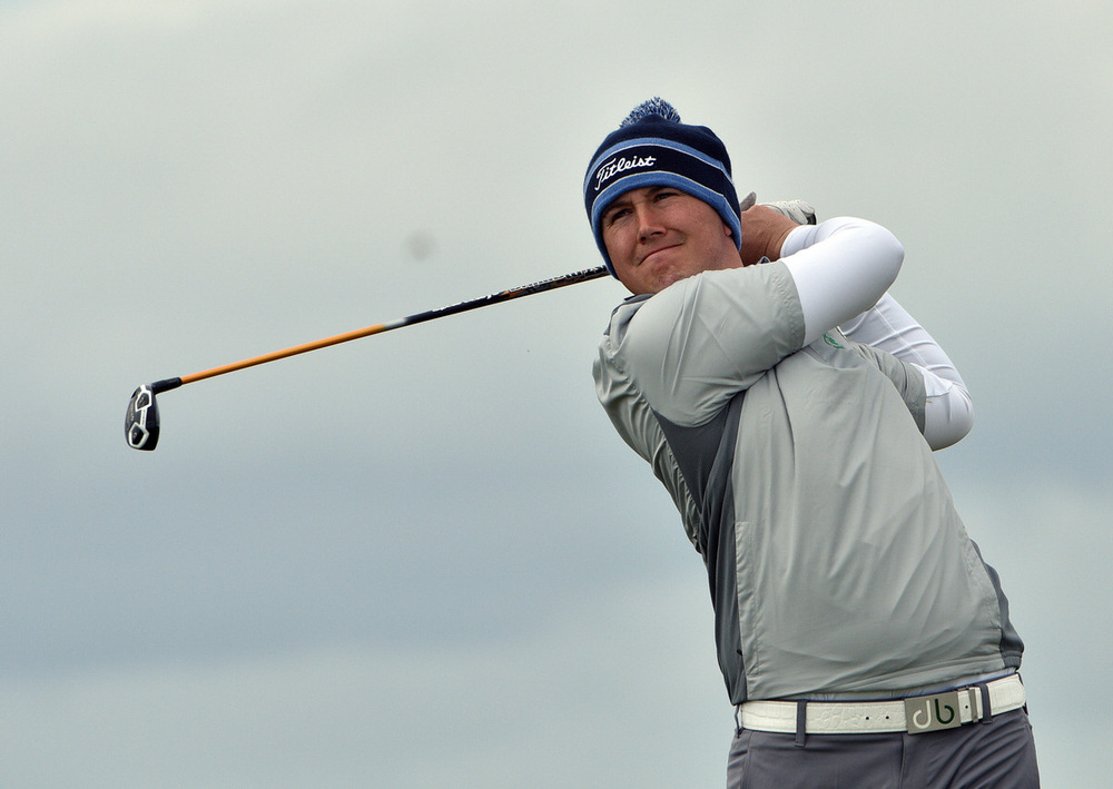Warrenpoint's Colm Campbell spearheads Ireland's challenge for the Amateur Championship next week. Picture: Pat Cashman