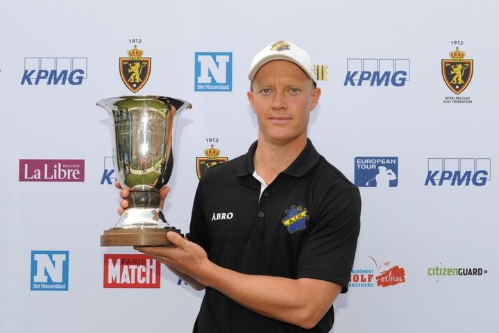 Simon Forsstrom. Picture:golfsupport.nl/FrankVuylsteke