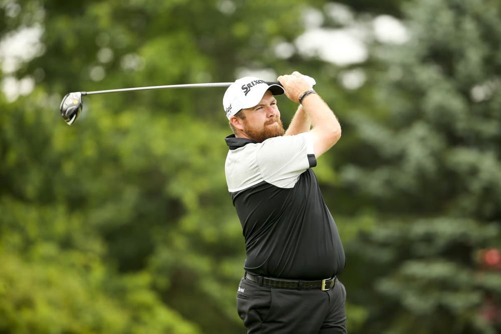 Shane Lowry at the third tee during the first round for the 2016 U.S. Open at Oakmont Country Club, June 16, 2016. Copyright USGA/Darren Carroll
