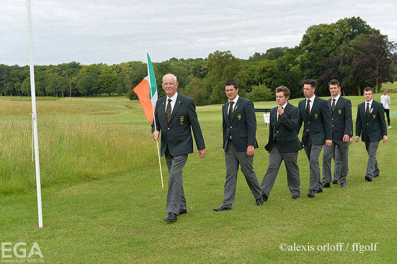 Ireland in Chantilly. Picture © Alexis Orloff/ffgolf