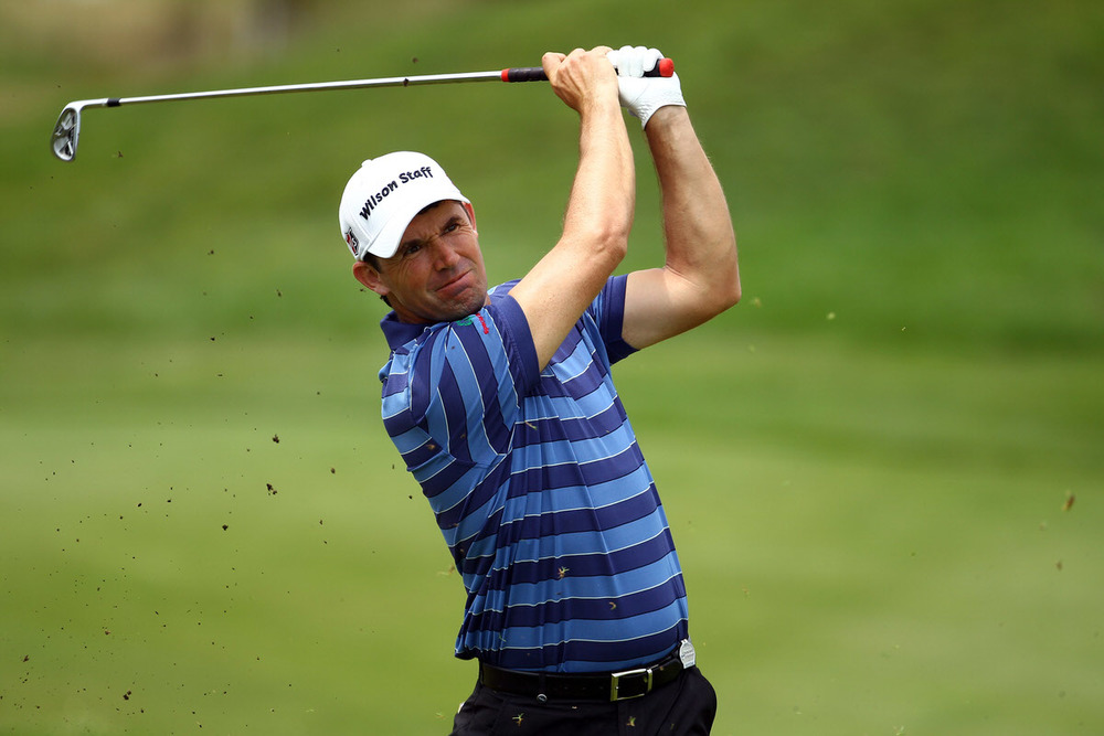 Pádraig Harrington.
