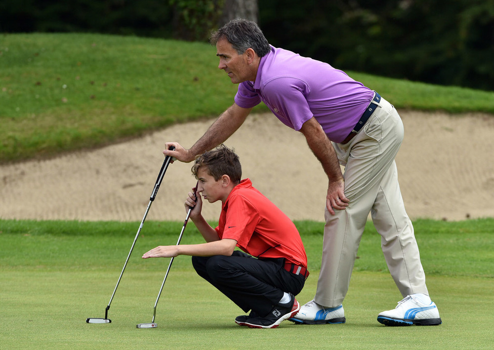2016 Father & Son competition at the Castle Golf Club
