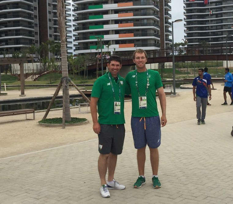 Pádraig Harrington and Seamus Power in Rio