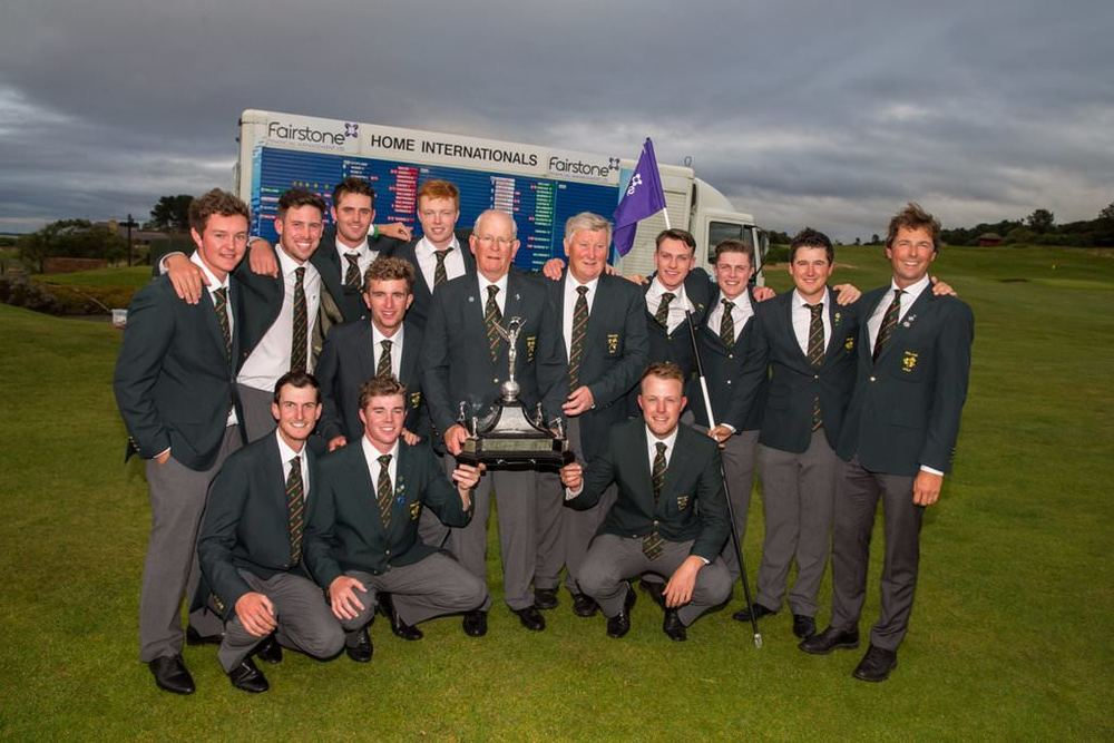 The winning Ireland team at Nairn