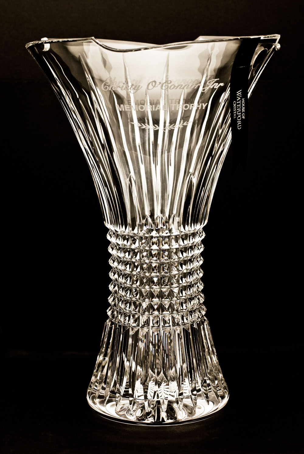 The Christy O'Connor Jnr Memorial Trophy, presented by House of Waterford Crystal
