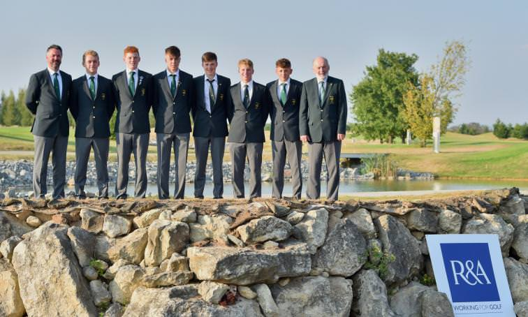 The winning Ireland team. Picture: Zdenek Sluka