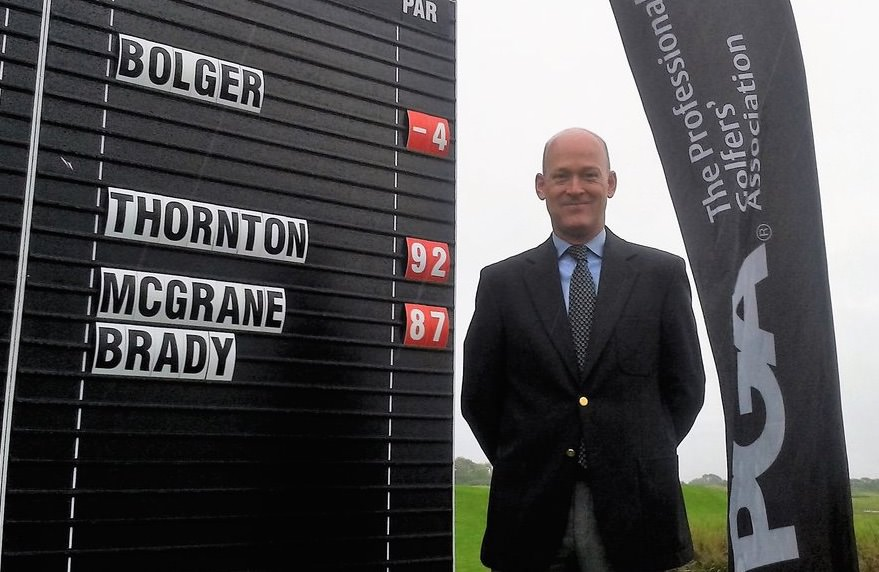 Kilkenny professional Jimmy Bolger
