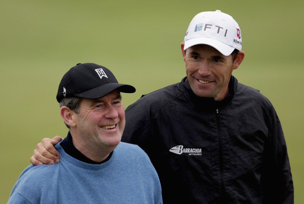 Pádraig Harrington and JP McManus