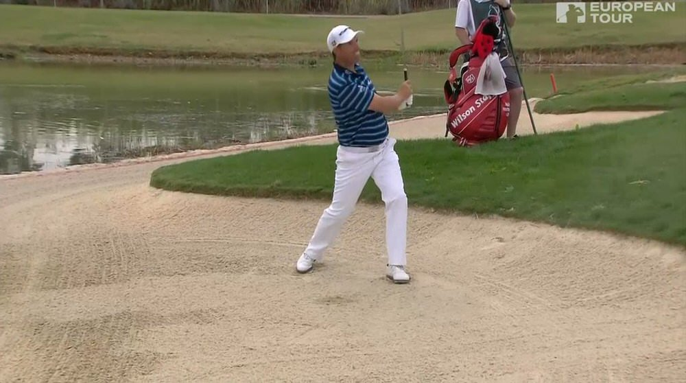 Harrington's mental approach was one of the keys to his win but he also holed out three times from off the green, including what he said was the toughest shot of the week from green side sand at the 11th.