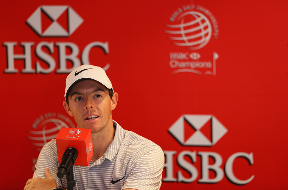 Rory McIlroy (which must be credited to Getty Images