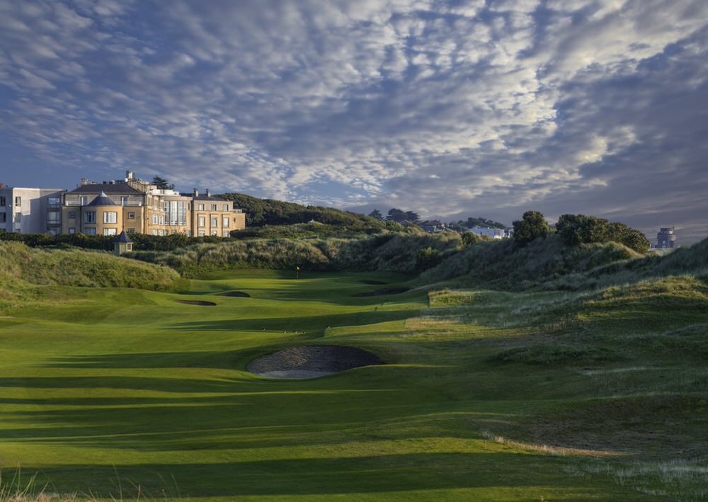The 18th at Portmarnock Hotel & Golf Links