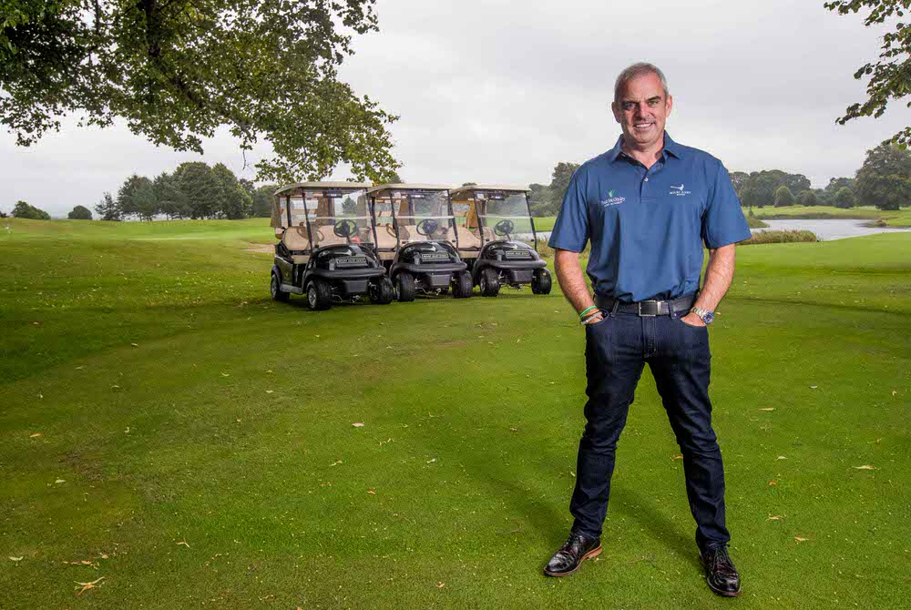 Paul McGinley at the announcement of the Paul McGinley Golf Academy at Mount Juliet Estate. Credit ©INPHO/Morgan Treacy