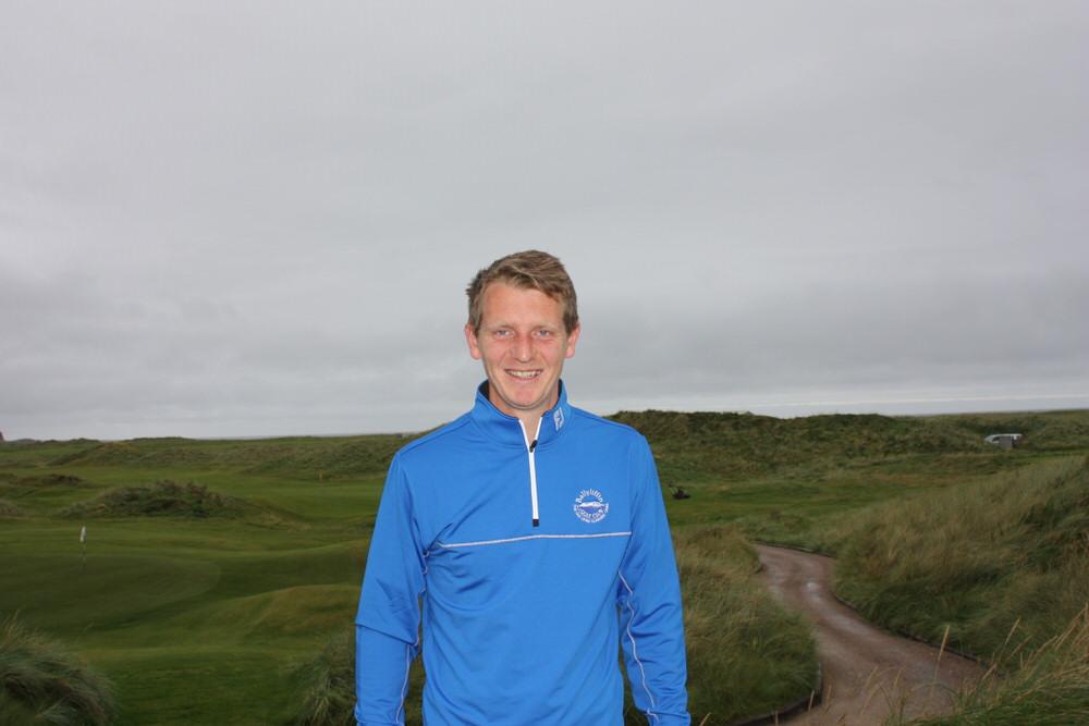 Ballyliffin's PGA professional, Gareth McCausland