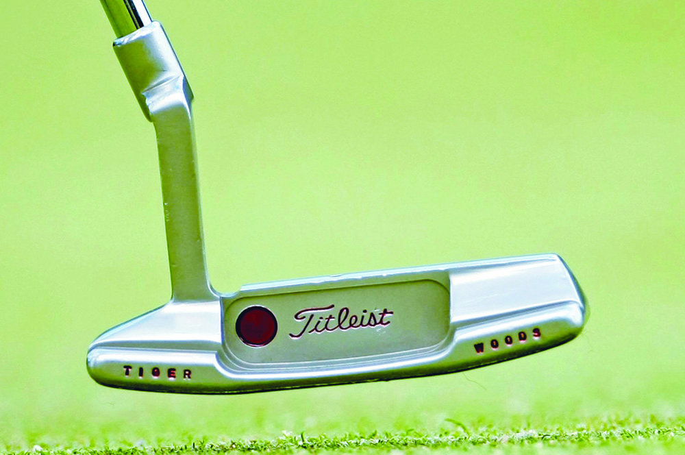 Tiger Woods' Scotty Cameron putter