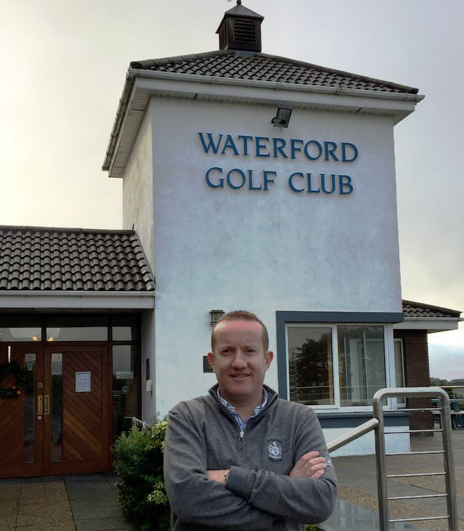 Waterford Golf Club's PGA professional, Harry Ewing