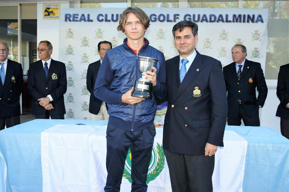 Marcus Svensson won the Copa de Andalucia by three strokes