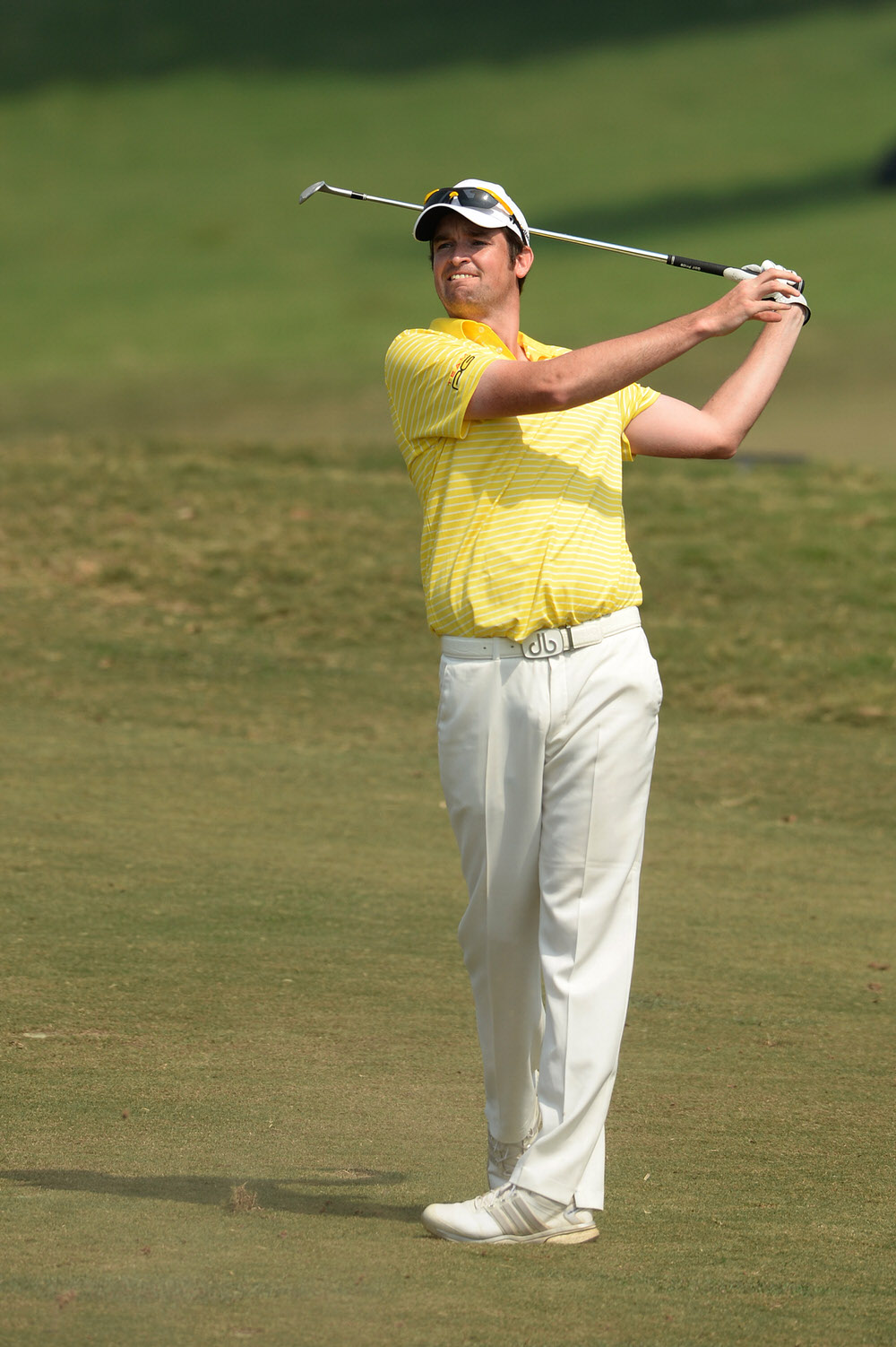 Niall Turner pictured at Macau Golf & Country Club by Arep Kulal / Asian Tour