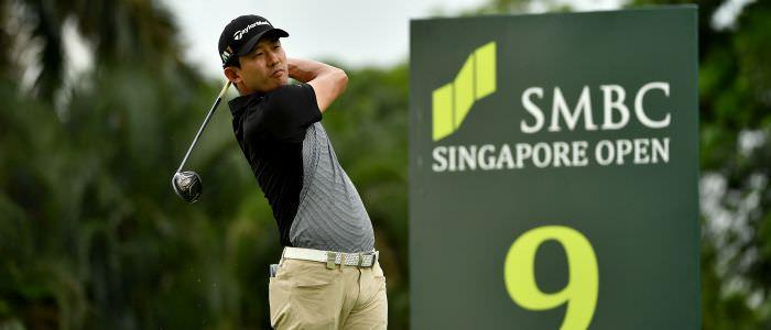 Seungsu Han of the US. Picture: Asian Tour
