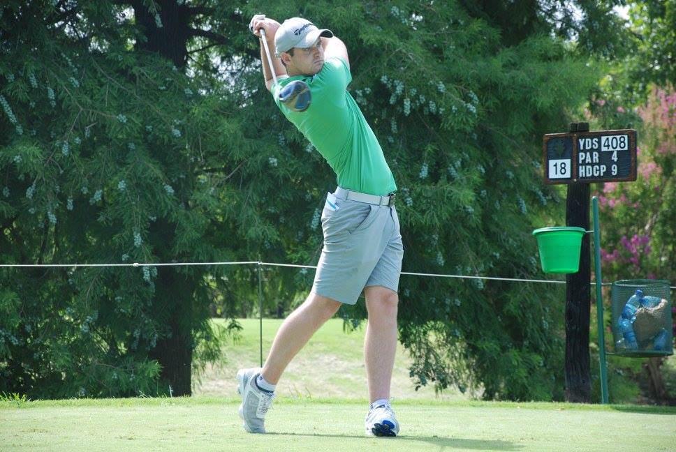 Conor O'Rourke. Picture:Asociación Argentina de Golf