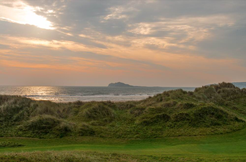 A great view at Portmarnock Hotel & Golf Links