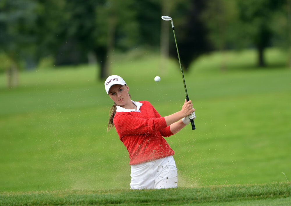 Julie McCarthy (Forrest Little) during the final of 2016 Irish Girls Close Championship at Kilkenny Golf Club. Picture by Pat Cashman