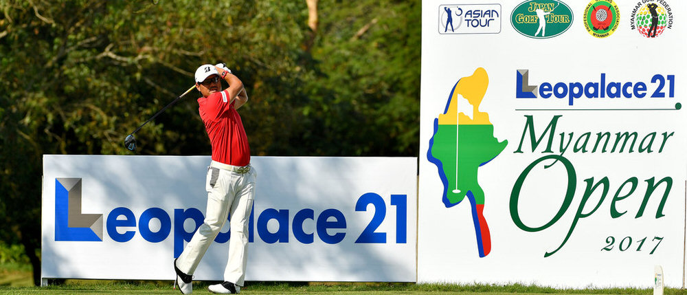 YANGON-MYANMAR- Yasuka Miyazato of Japan pictured during round two of the Leopalace21 Myanmar Open. Picture by Paul Lakatos/Asian Tour.