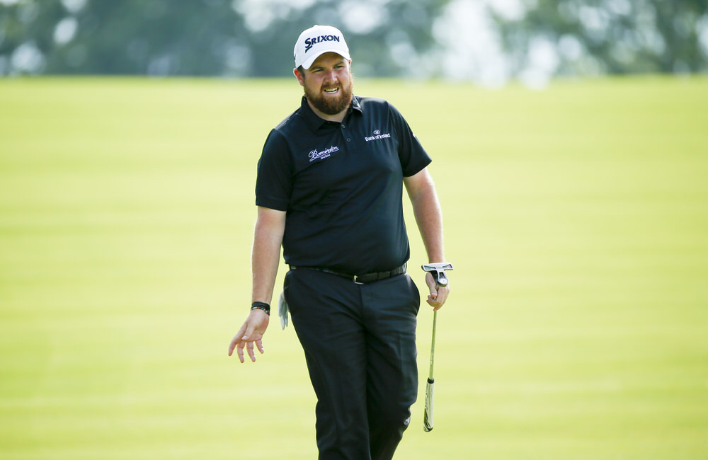 Shane Lowry reacts to a missed birdie putt on the first hole during the third round of the 2016 U.S. Open at Oakmont Country Club in Oakmont, Pa. on Saturday, June 18, 2016. (Copyright USGA/Jeff Haynes)
