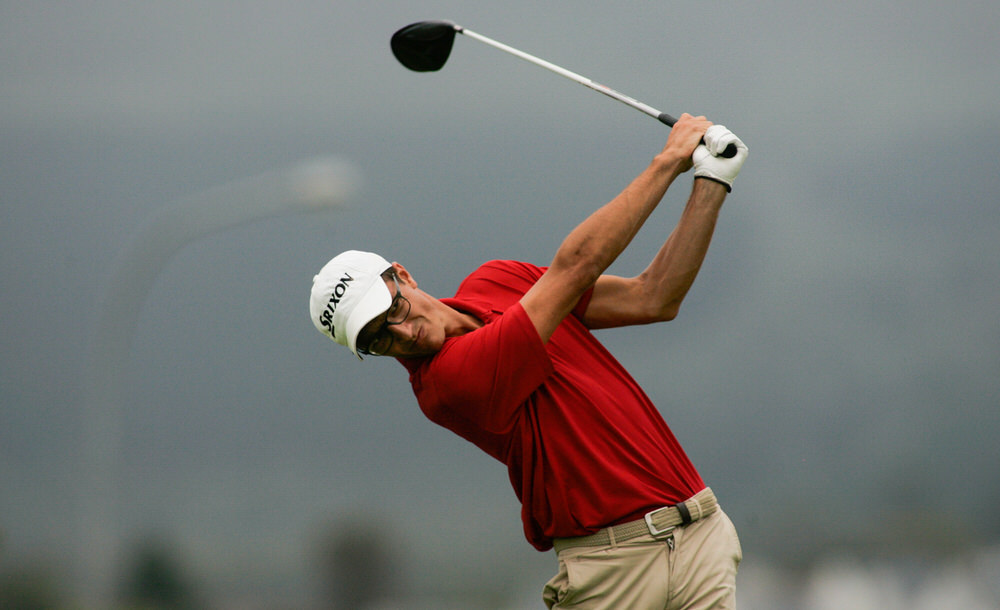 South Africa's Phillip Swanepoel. Picture ©Pieter Els