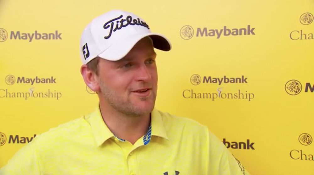 Bernd Wiesberger was happy with his 63