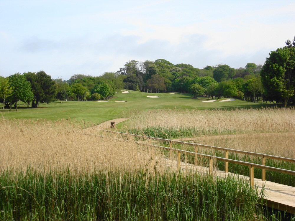 The fairway at the sixth on the Red course at Malahide