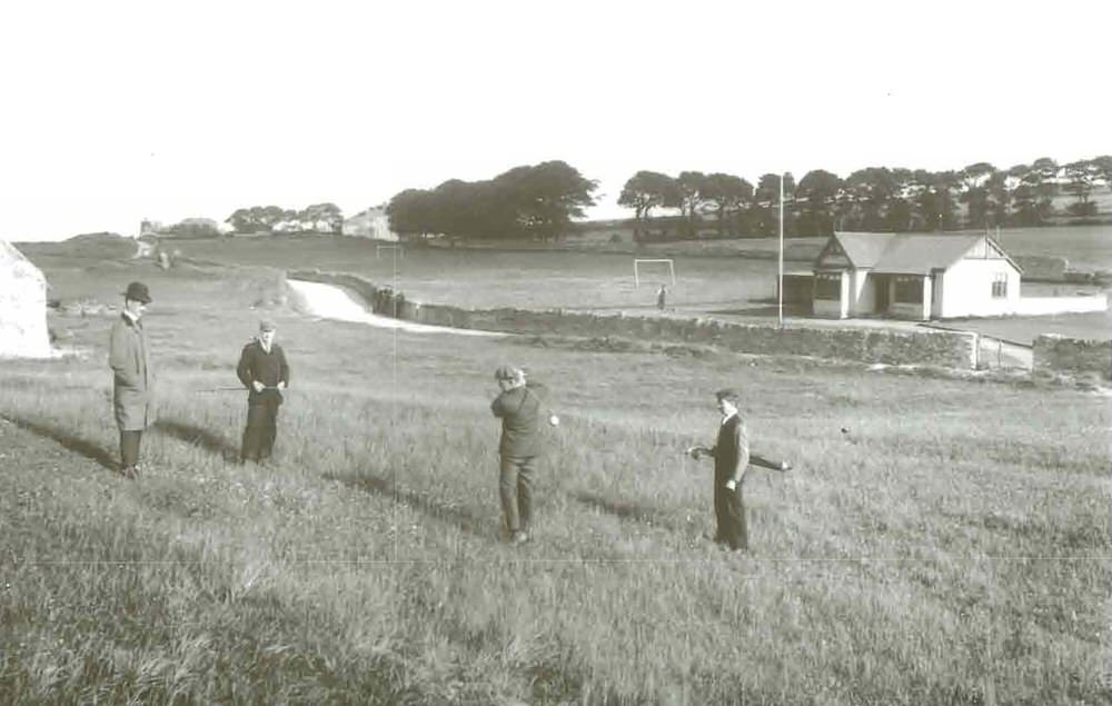 Golf on the original Malahide course in 1898