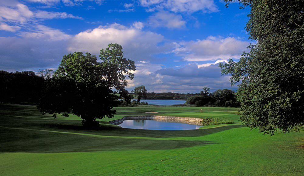 The ninth at Dromoland Castle