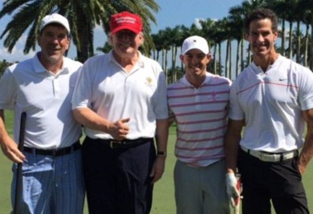 McIlroy and Trump