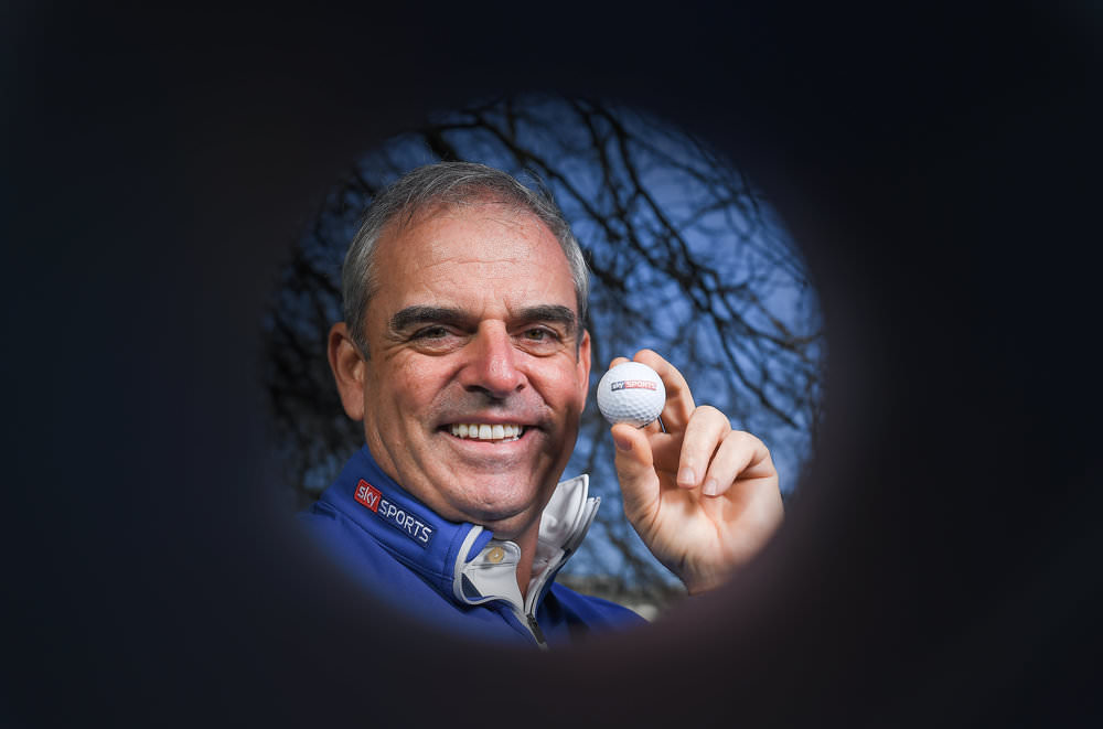 Paul McGinley leads Sky Sports' coverage of the US Masters 2017.  Photo by Brendan Moran/Sportsfile