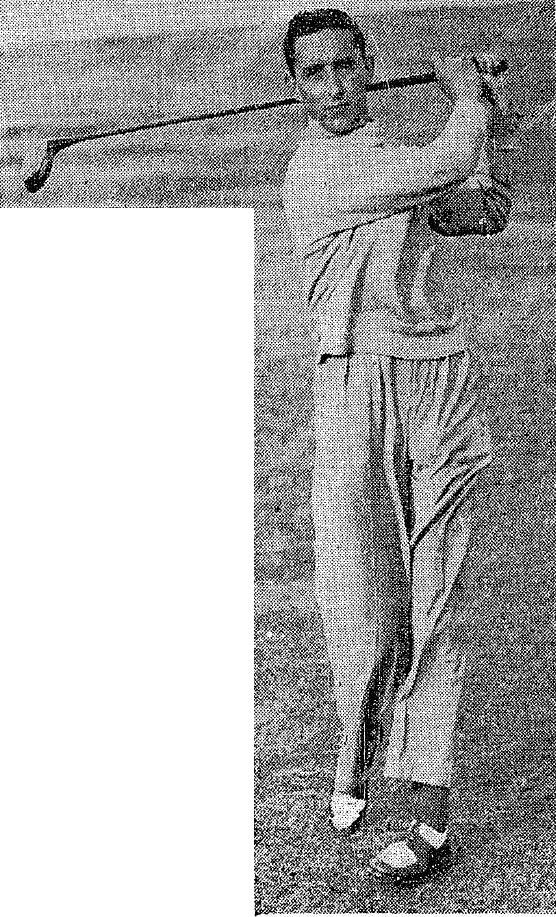 """J.F. """"Jack"""" McLoughlin, Royal Dublin. Picture: The Irish Press, 1937"""