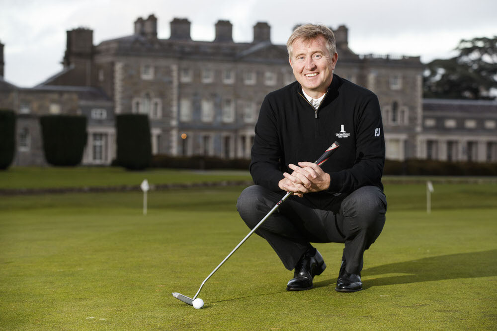 Director of Golf David Kearney has big plans for Carton House