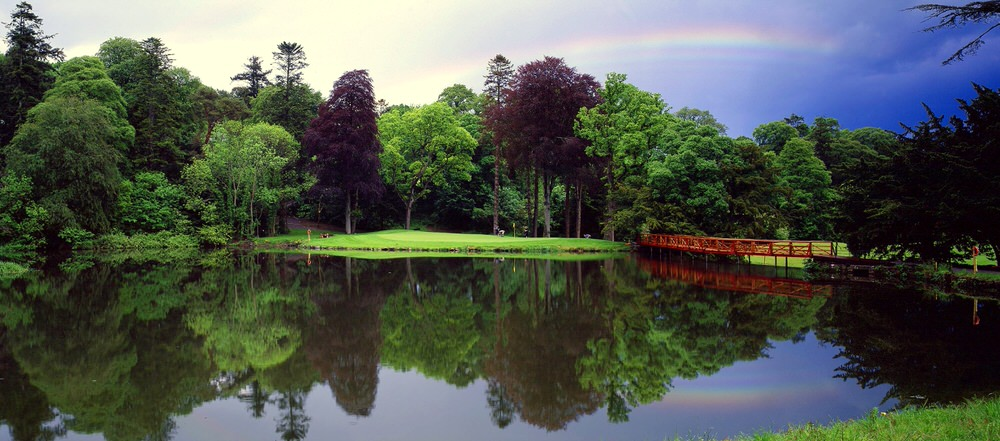 The par-three 16th on the O'Meara Course at Carton House