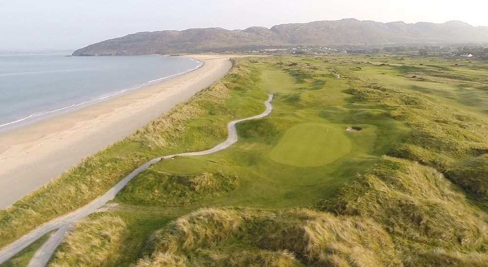 Portsalon Golf Club, one of the founding members of the Golfing Union of Ireland