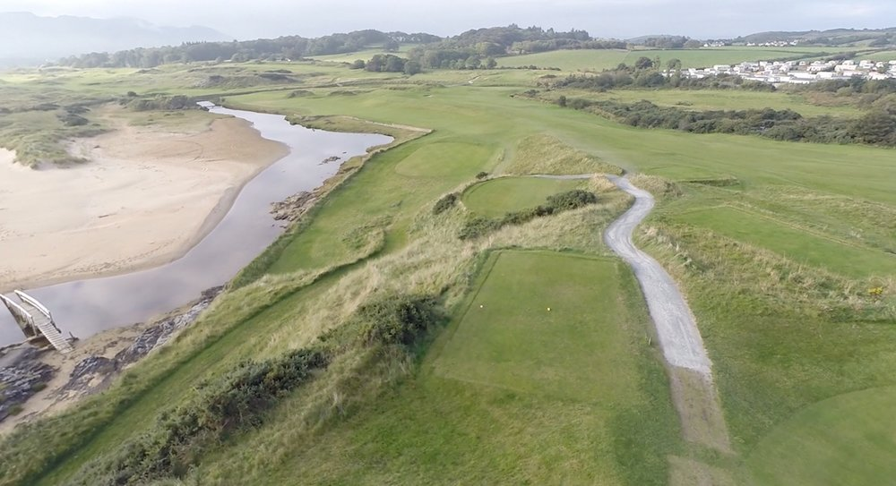 The signature second hole at Portsalon