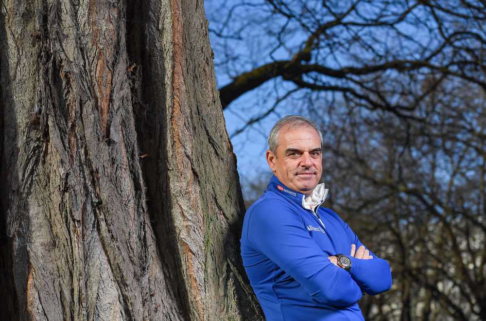 Paul McGinley. Photo by Brendan Moran/Sportsfile