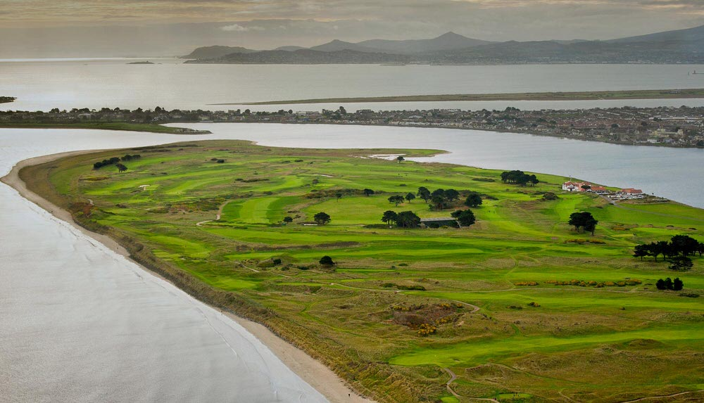 Portmarnock Golf Club. Picture via  portmarnockgolfclub.ie