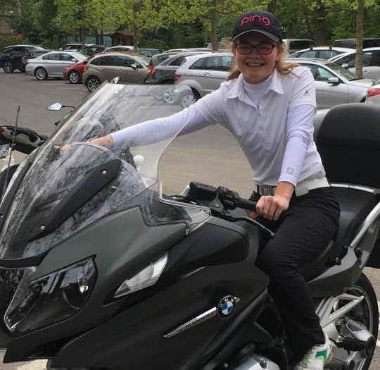 Annabel Wilson is motoring in Paris