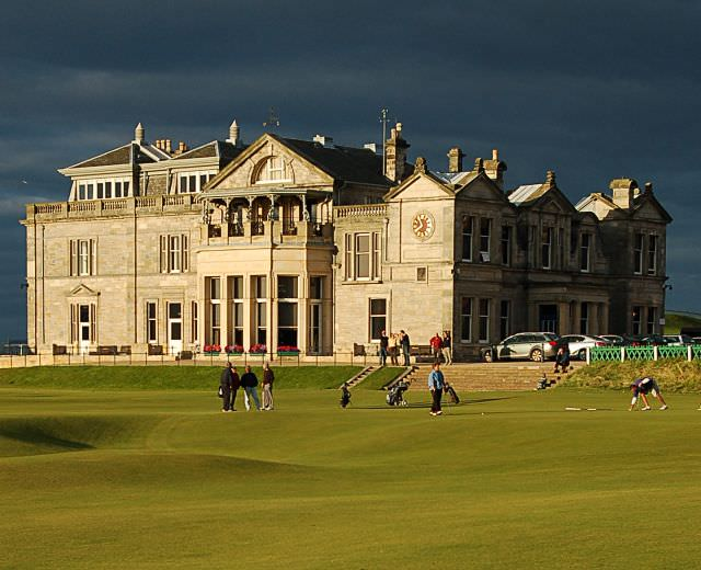 The R&A clubhouse. Picture: Jim Bain