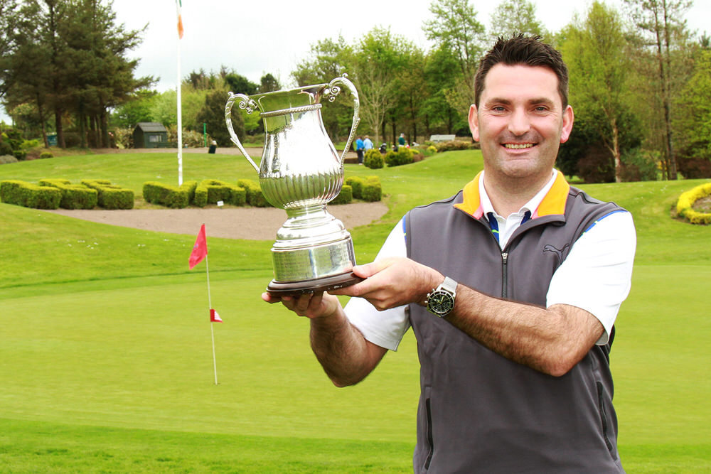 Gary O'Flaherty, winner of the Dell EMC Lee Valley Senior Scratch Cup. Picture: Niall O'Shea