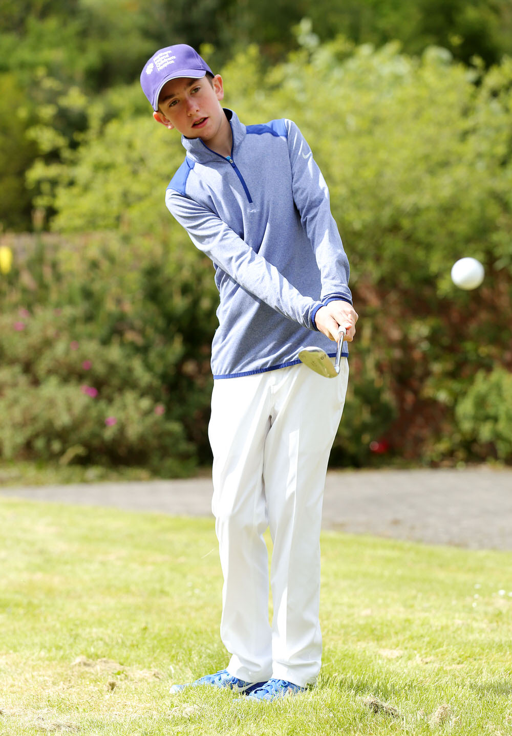 Teenage sensation Tom McKibbin, who was invited by Modest! Golf to compete in the 2016 NI Open at Galgorm Castle Golf Club (PressEye).
