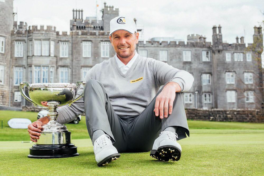 David Higgins - 2017 PGA Irish Club Professional champion
