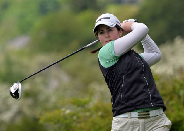 Paula Grant (Lisburn) during the 2015 Irish Women's Open Strokeplay Championship at Douglas in May. Picture by  Pat Cashman
